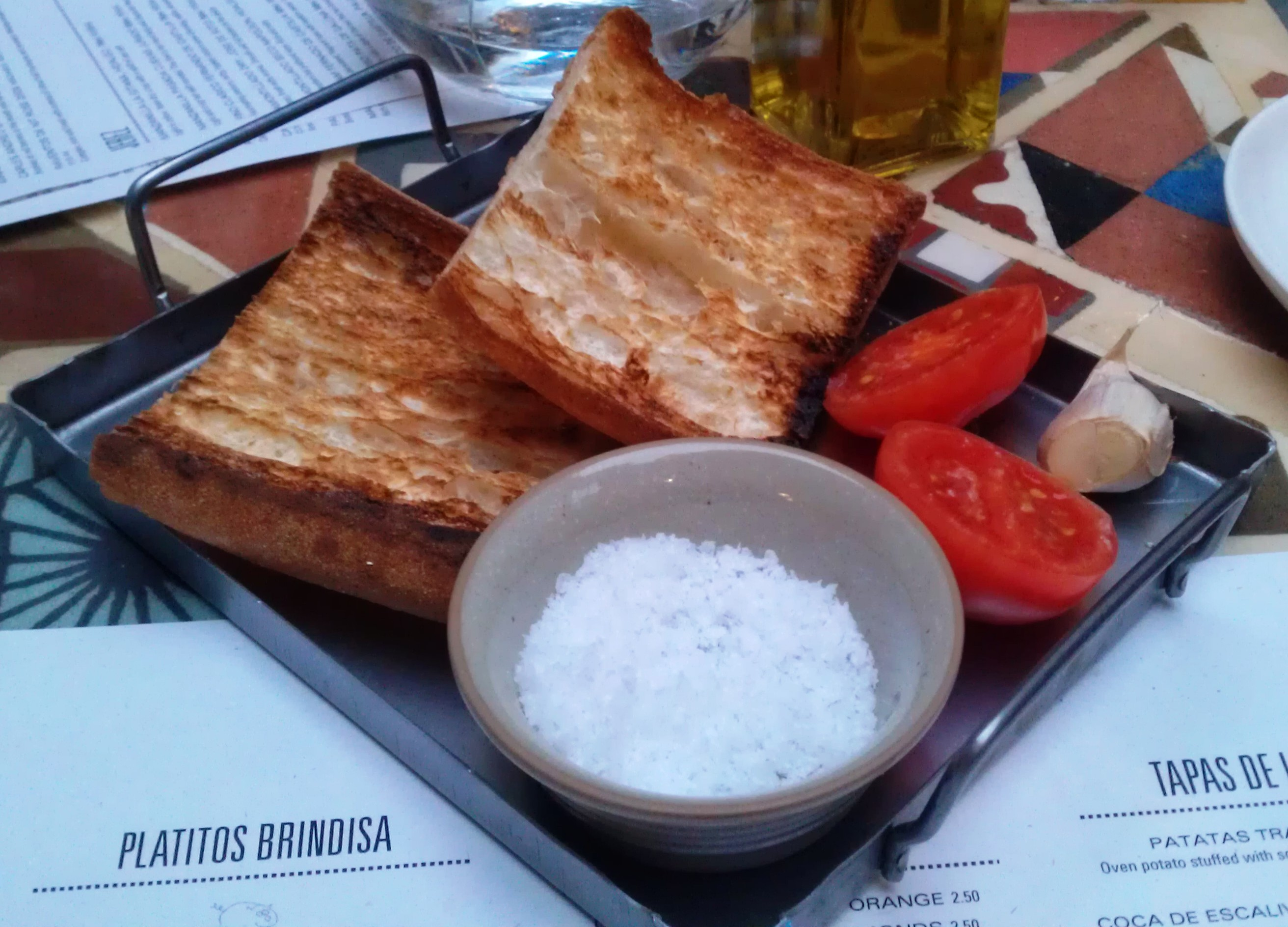 The Spanish come to Shoreditch -
