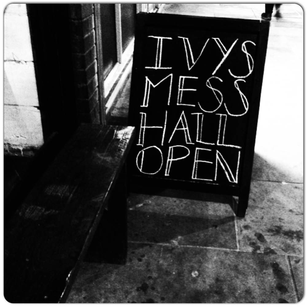 Ivys Mess Hall Open