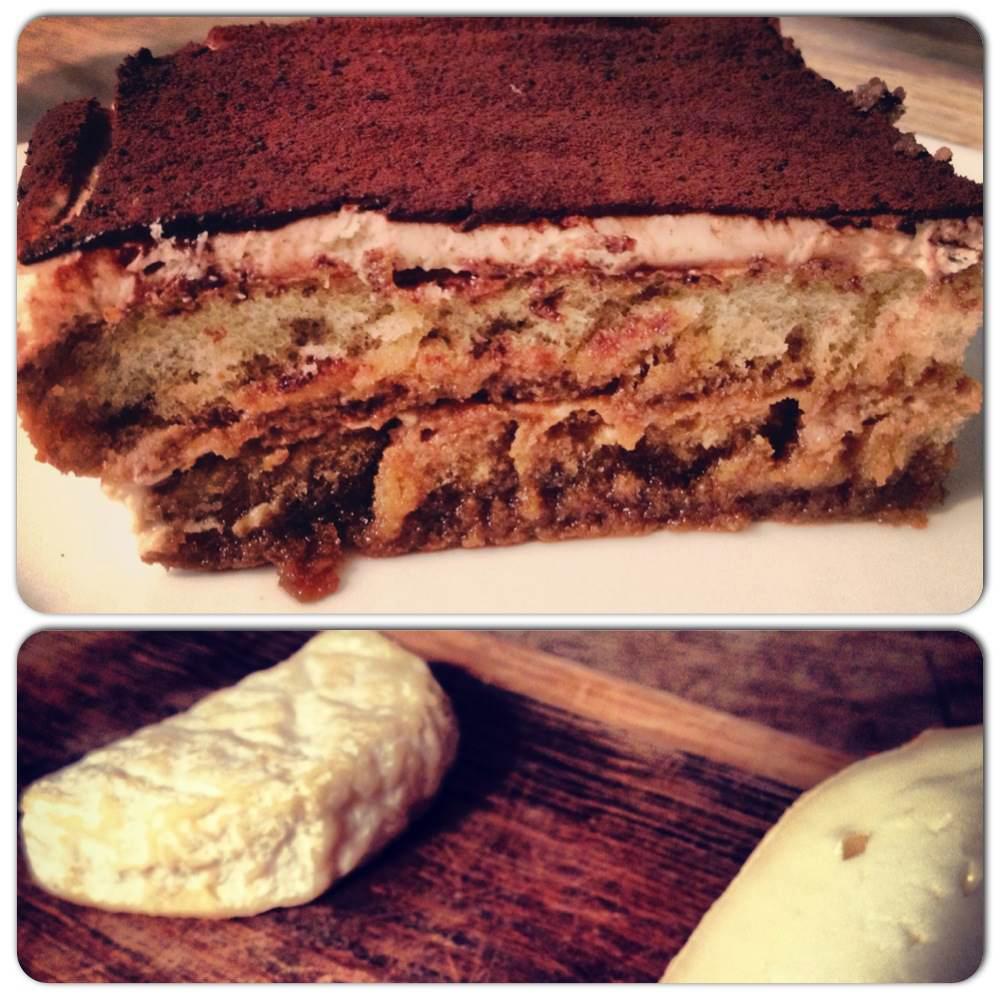 Frangelico Tiramisu & Cheese