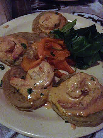 Fried Green Tomatoes & Shrimp