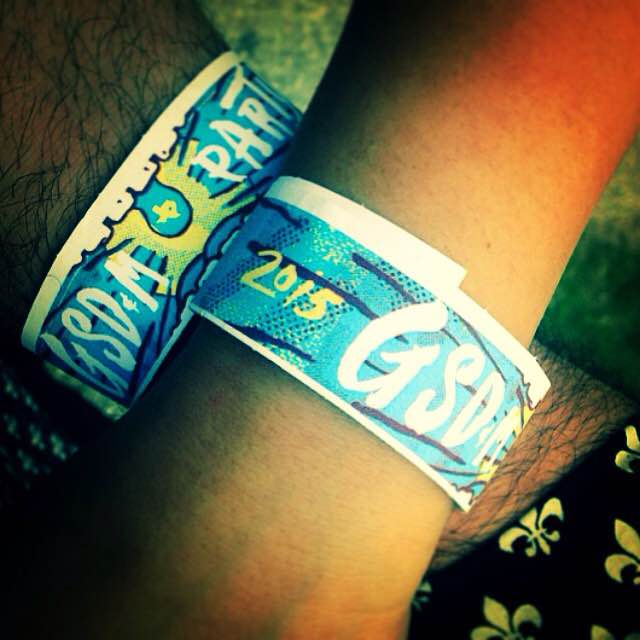 The coveted wristbands