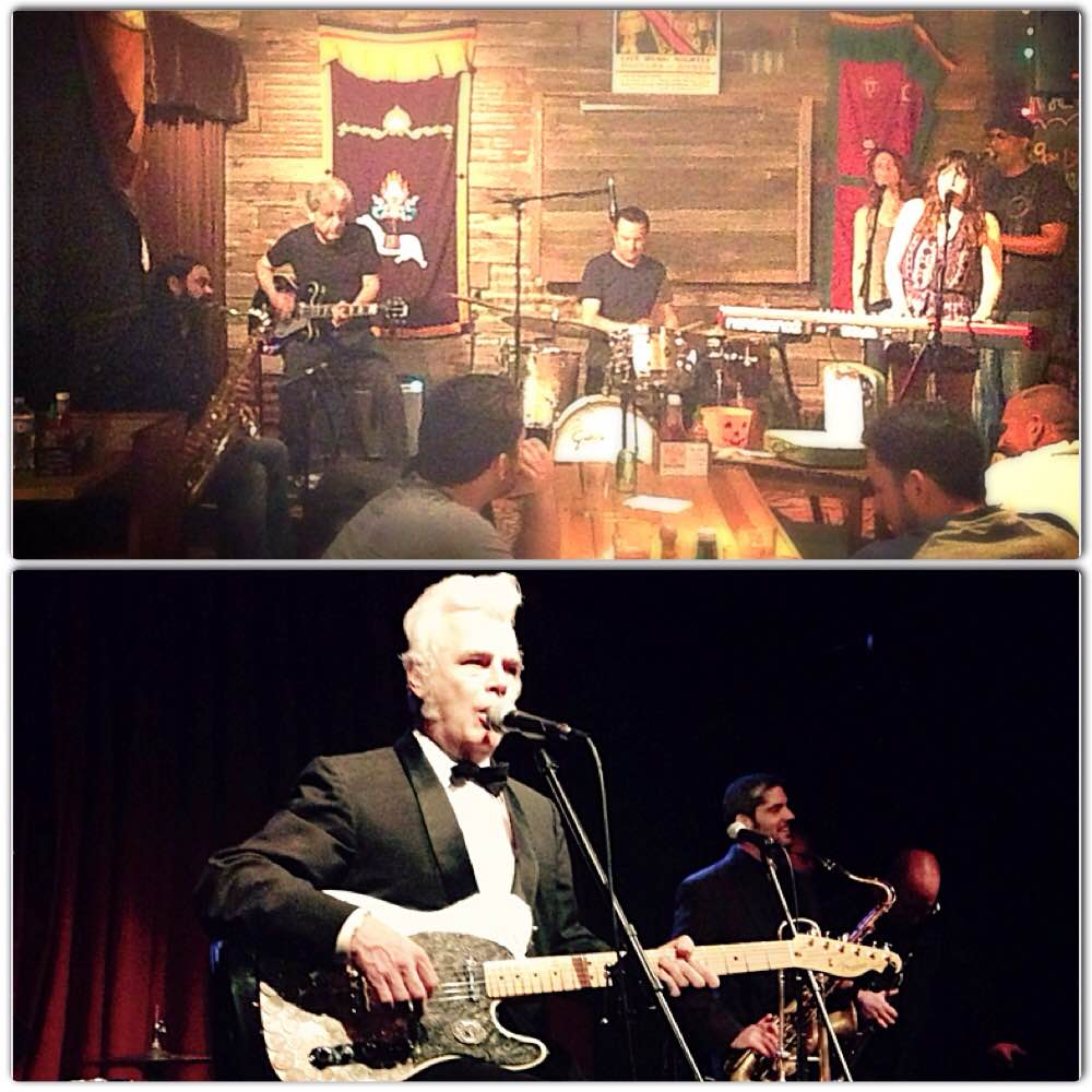 Austin locals Drew Davis & Band (above) and local legend Dale Watson (below)