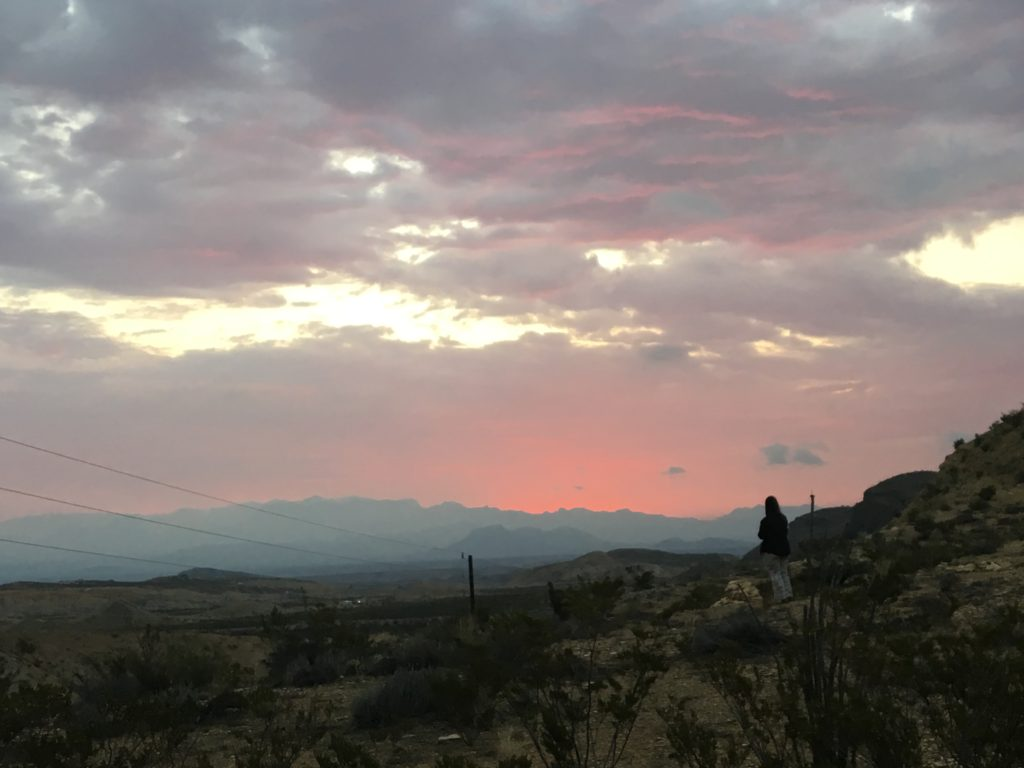 Sunrise in Terlingua
